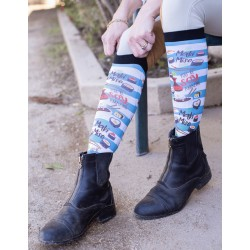 Dreamers & Schemers  -   California Roll Boot Socks